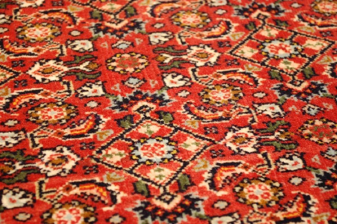 Kpsi Kork Wool Persian Bijar Rug 1.10x2.4 Village Woven - 6