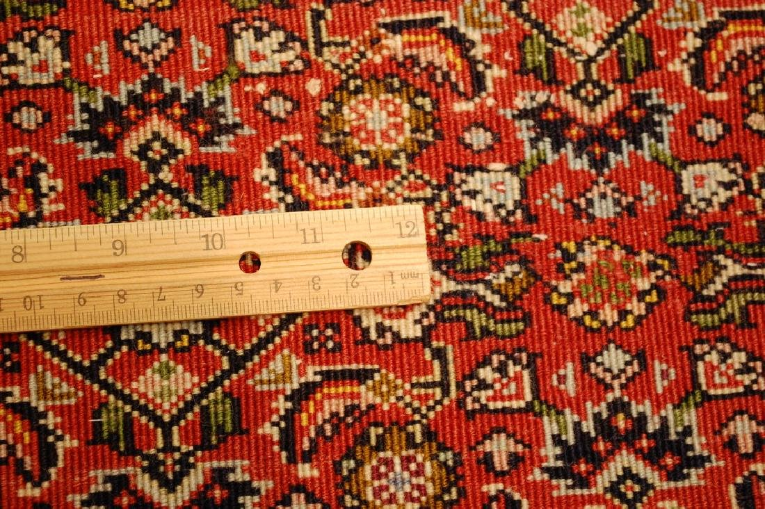 Kpsi Kork Wool Persian Bijar Rug 1.10x2.4 Village Woven - 8