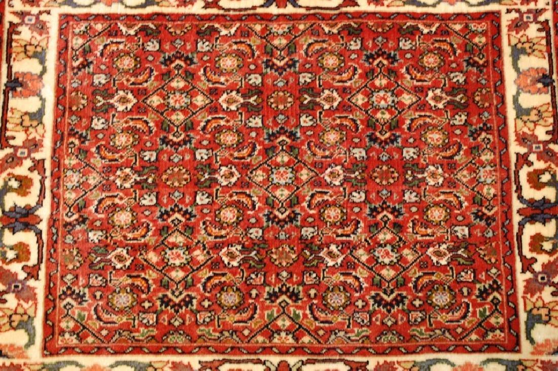Kpsi Kork Wool Persian Bijar Rug 1.10x2.4 Village Woven - 9