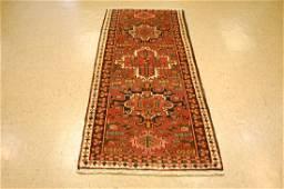 Ci 1950s Antique Persian Heriz Runner Rug 2.9x6.9