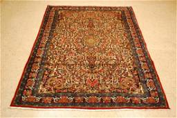 Detailed Kork Wool High Kpsi Persian Bijar Rug 4.7x6.7