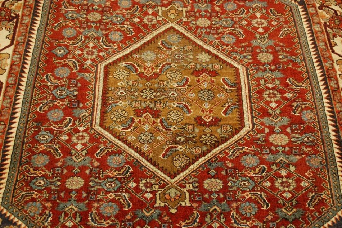 Detailed Persian Bijar Rug 4.9x6.11 Classic Village - 10