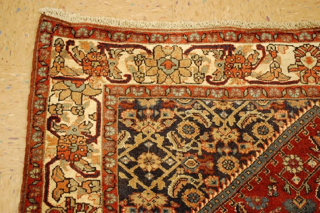Detailed Persian Bijar Rug 4.9x6.11 Classic Village - 3