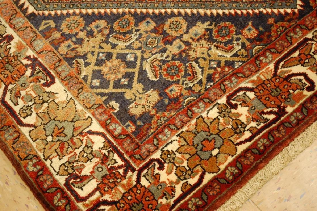 Detailed Persian Bijar Rug 4.9x6.11 Classic Village - 6