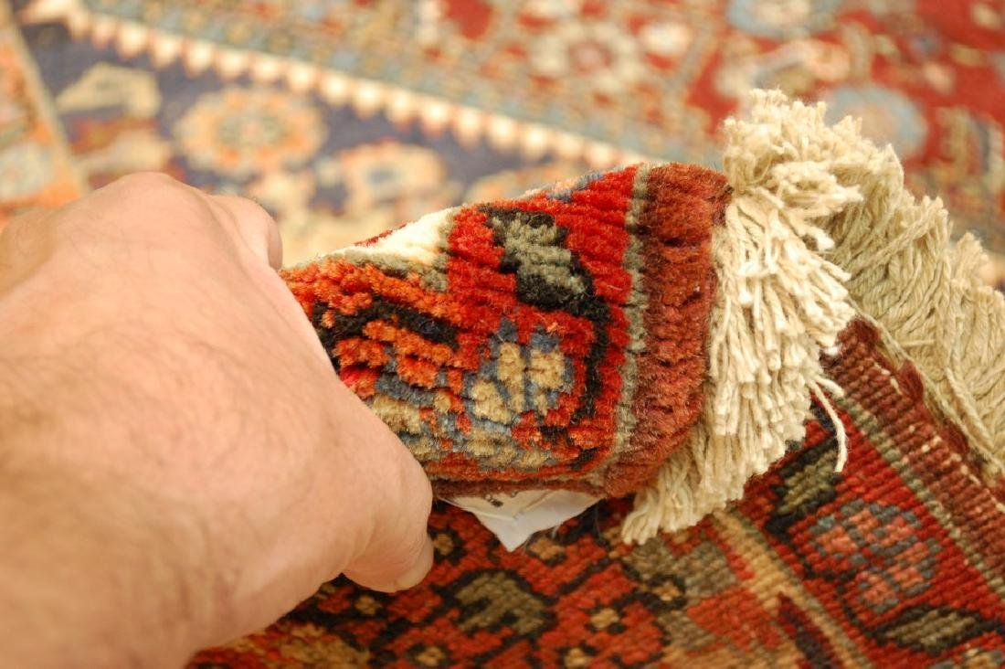 Detailed Persian Bijar Rug 4.9x6.11 Classic Village - 8