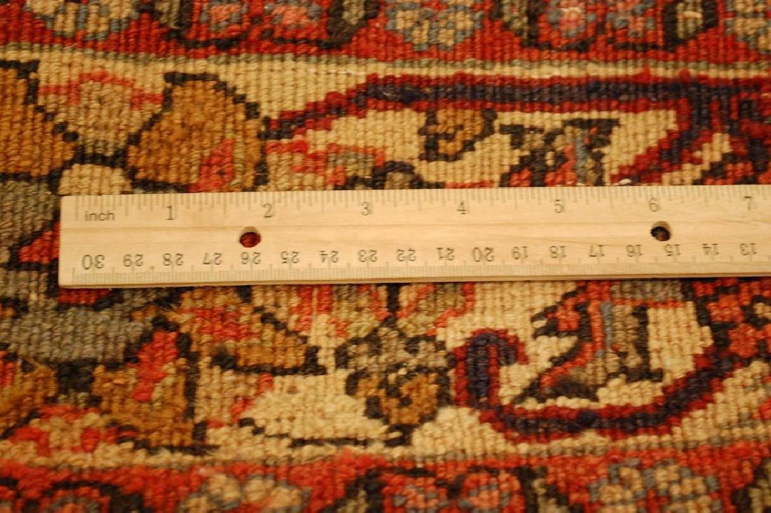 Detailed Persian Bijar Rug 4.9x6.11 Classic Village - 9