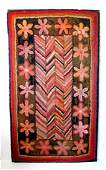 19thC Hooked Rug