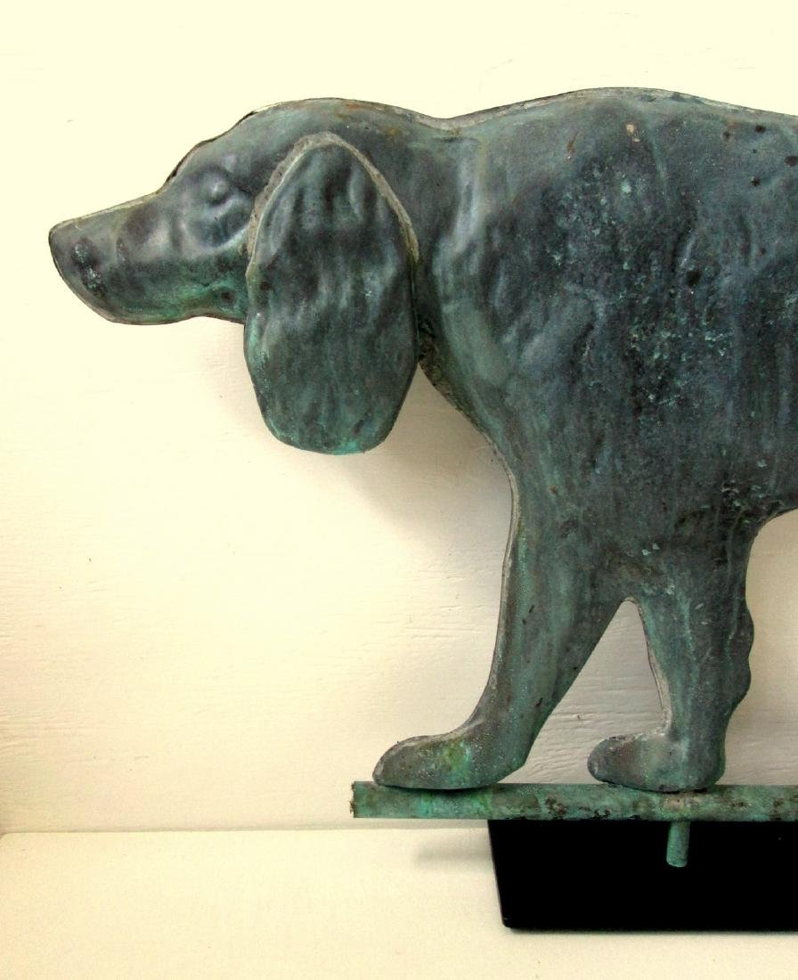 Setter Dog Weathervane - 3