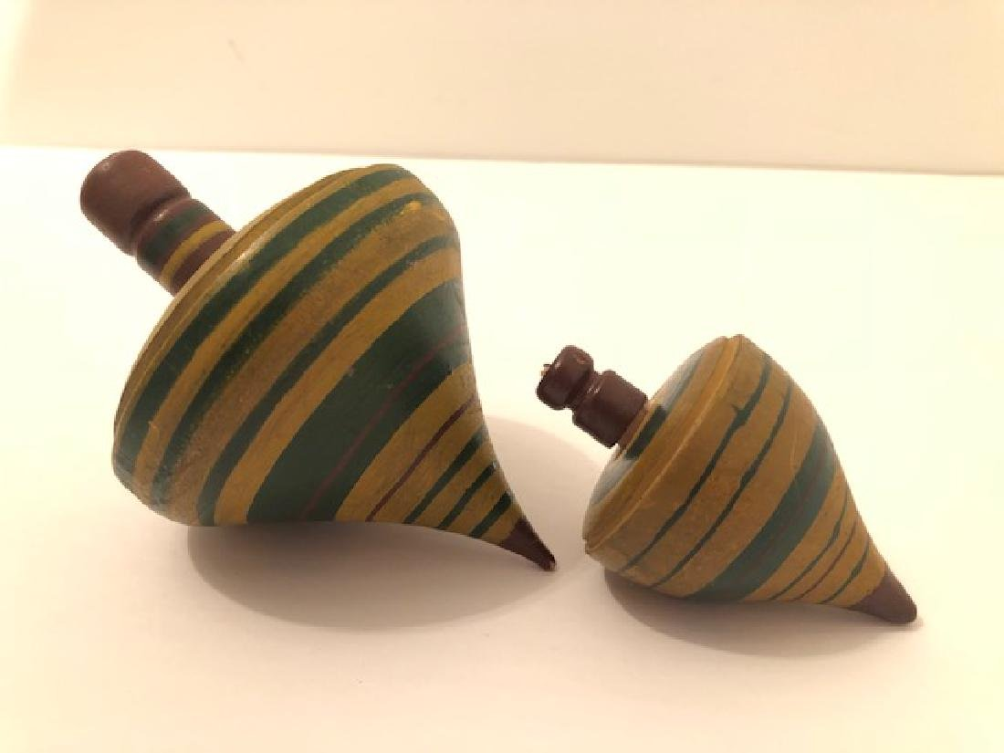 Wooden Spinning Tops - 2