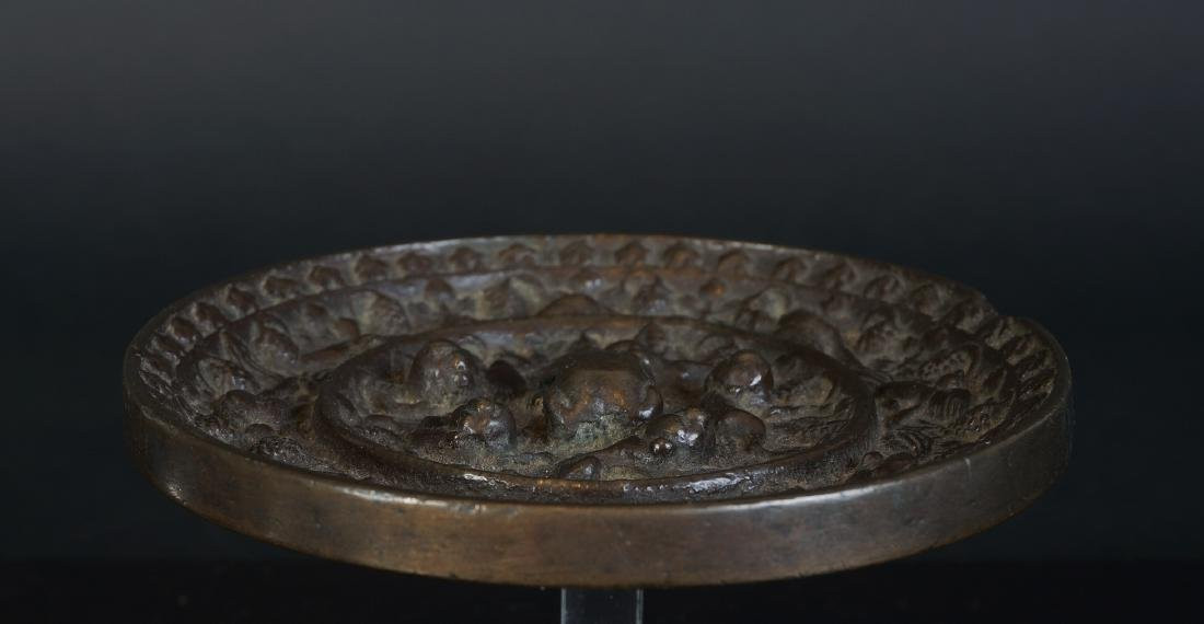 Very special antique Chinese bronze Miror Tang Dynasty - 10