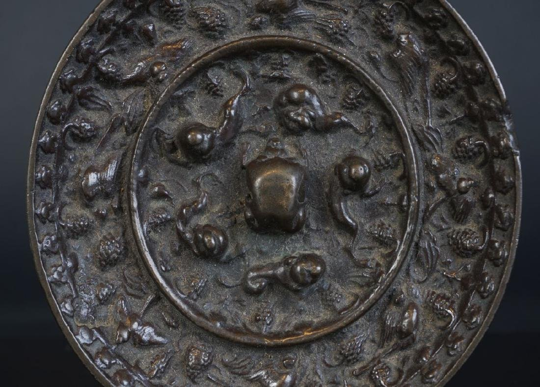 Very special antique Chinese bronze Miror Tang Dynasty - 3