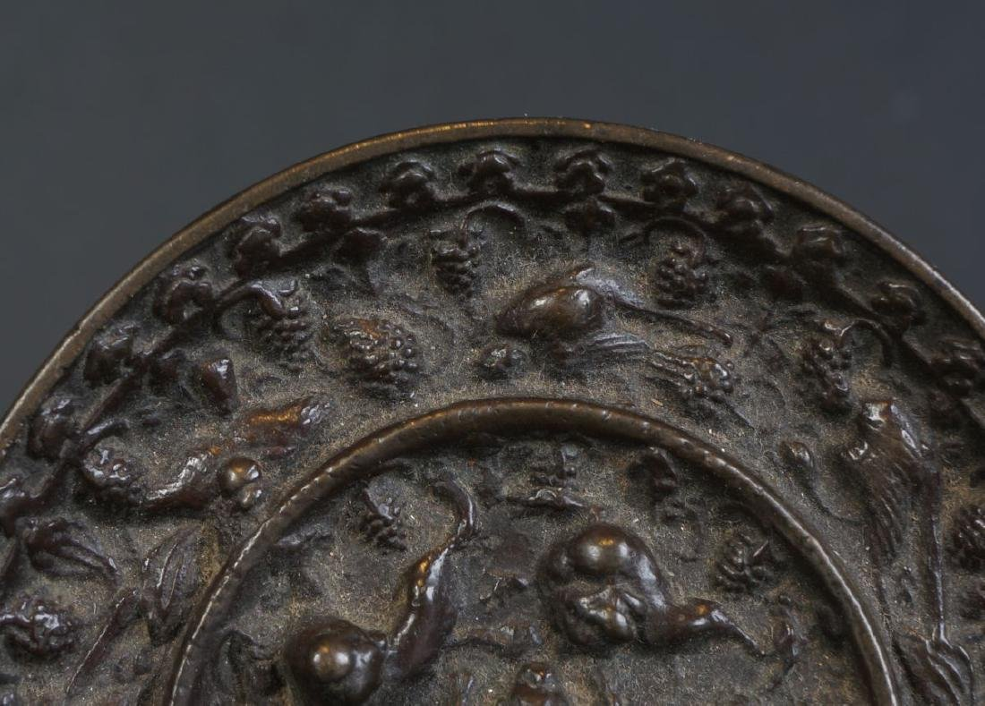 Very special antique Chinese bronze Miror Tang Dynasty - 4