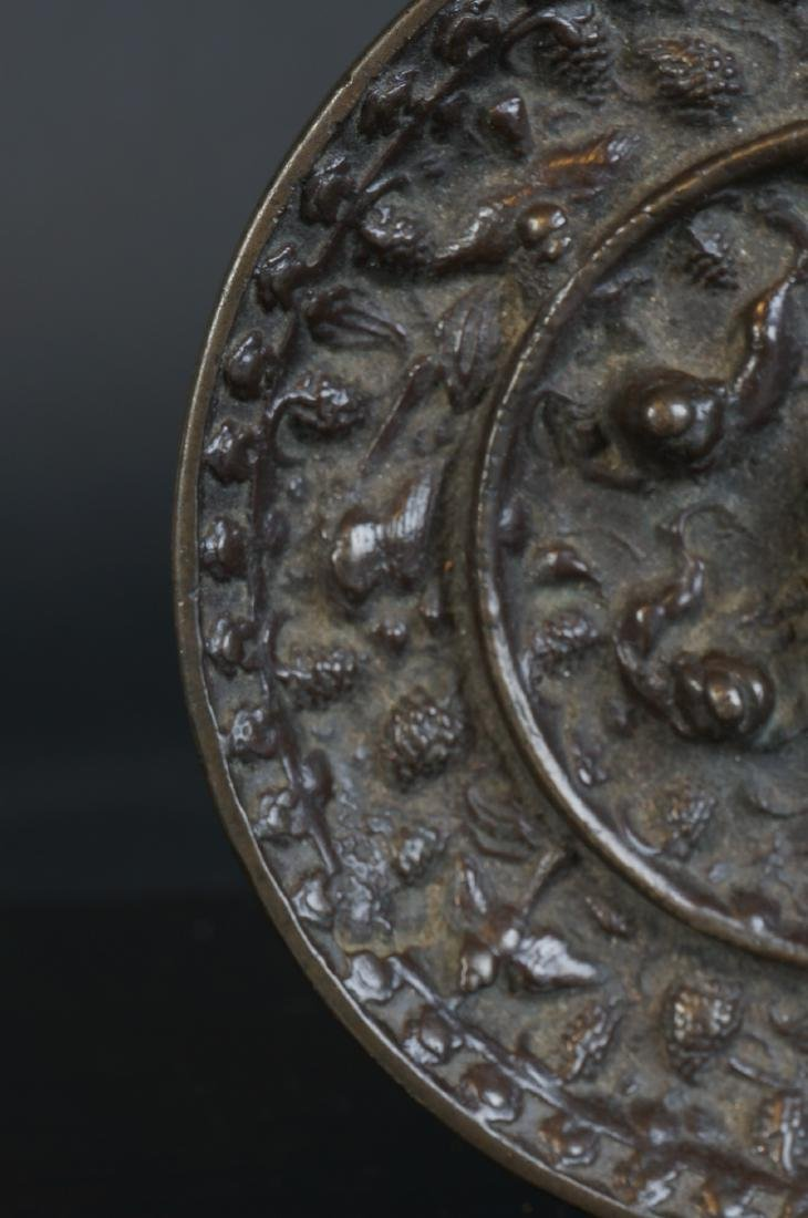 Very special antique Chinese bronze Miror Tang Dynasty - 6