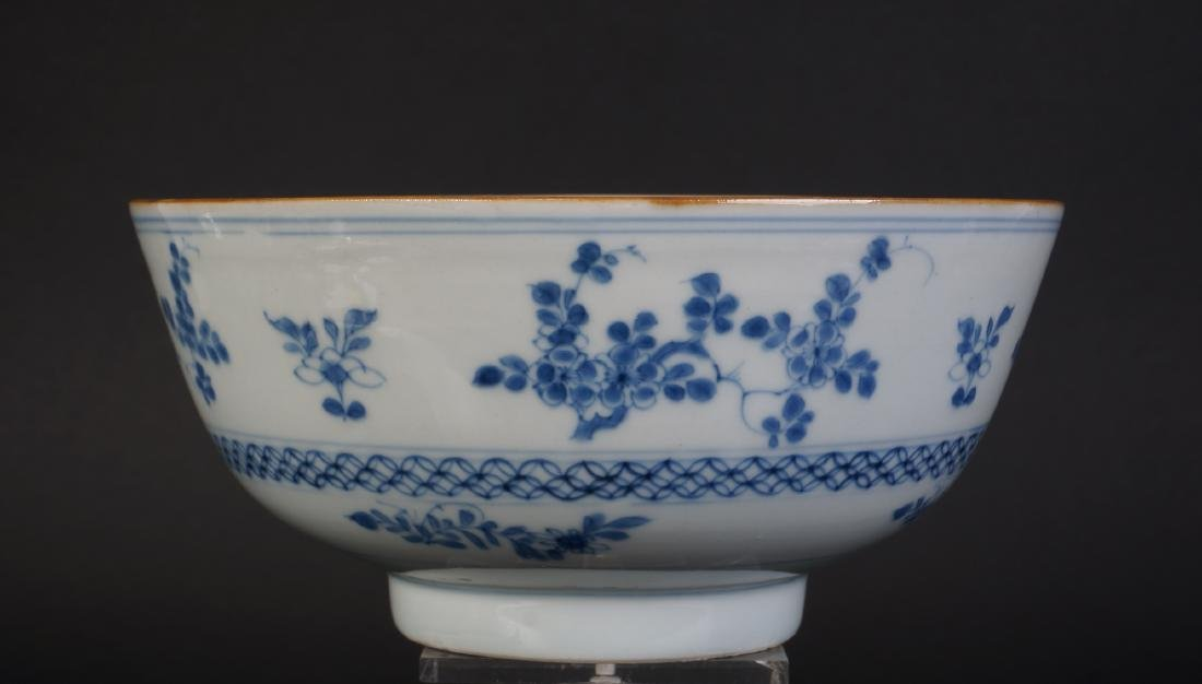 A very nice antique Chinese blue and white bowl