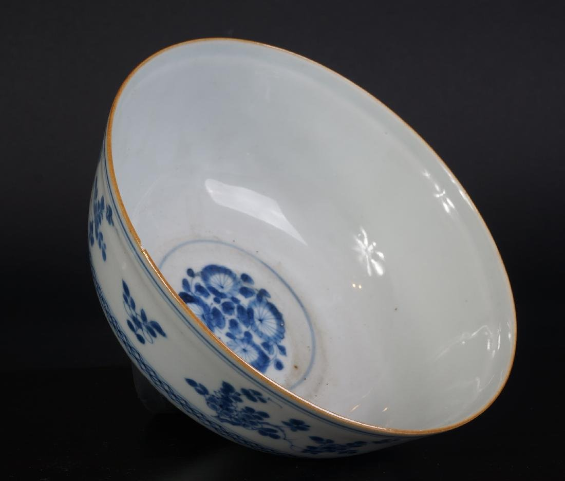 A very nice antique Chinese blue and white bowl - 5