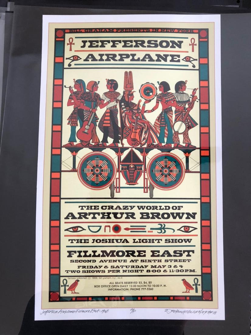 DAVID BYRD - Jefferson Airplane - Signed Artists Proof