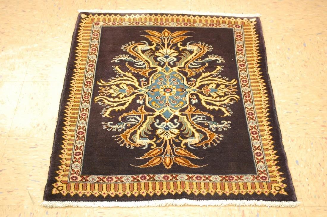Persian Kashan Rug 2.6x3.6 Highly Detailed