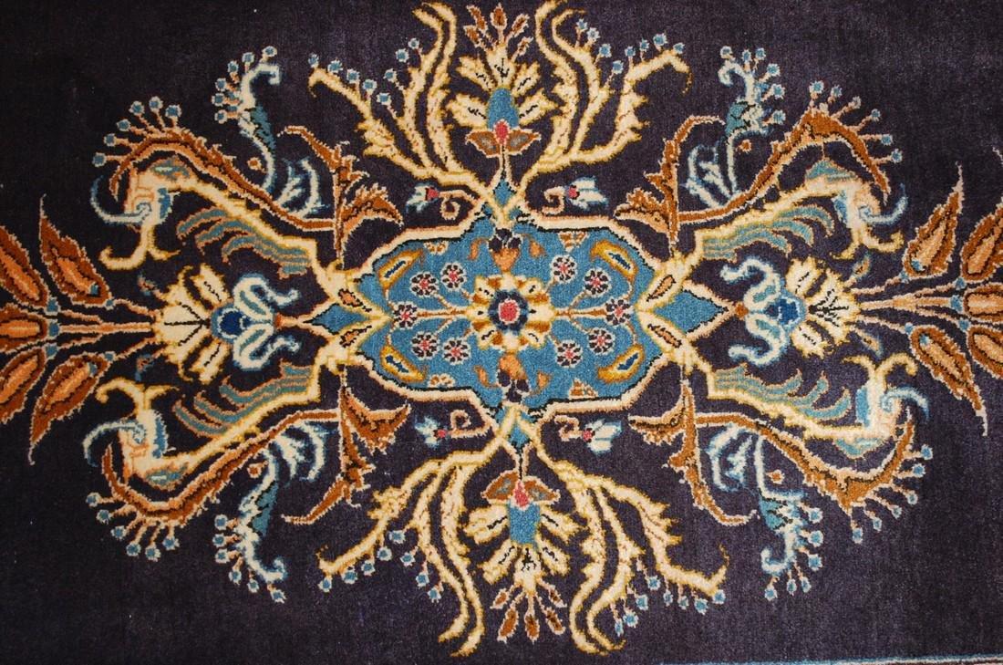 Persian Kashan Rug 2.6x3.6 Highly Detailed - 4