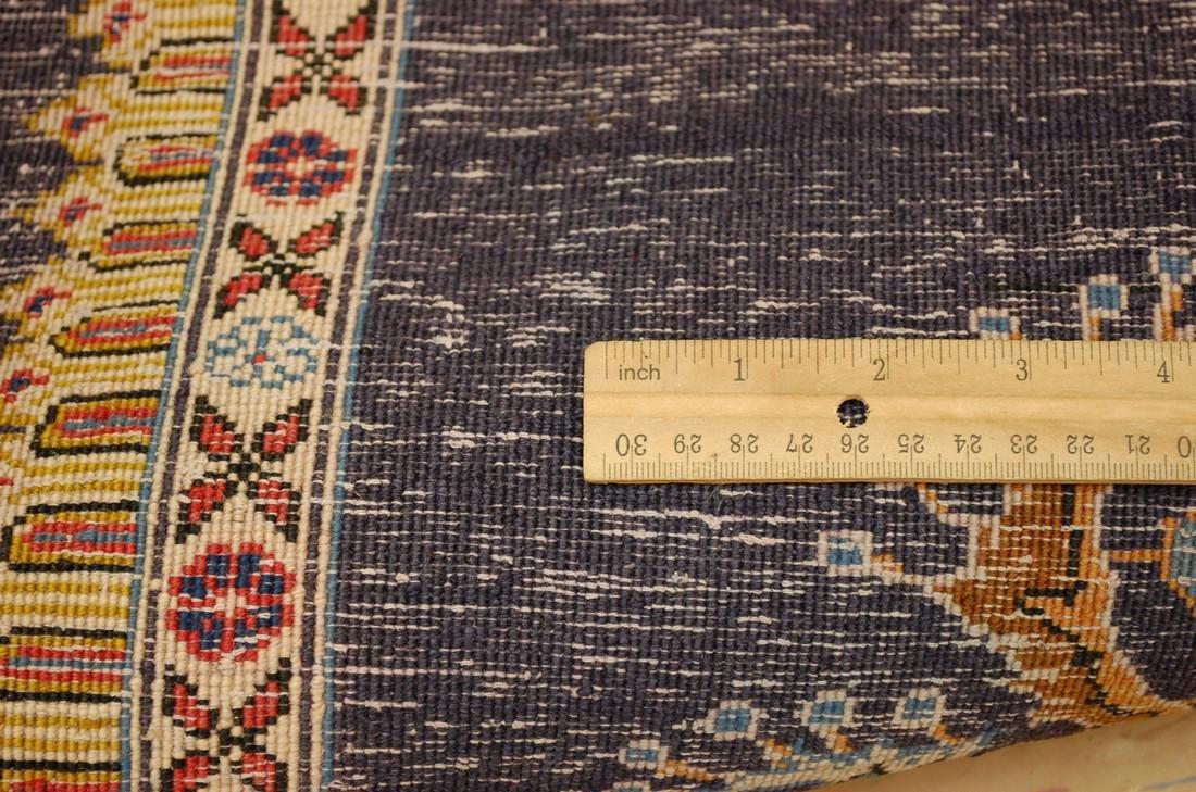 Persian Kashan Rug 2.6x3.6 Highly Detailed - 6