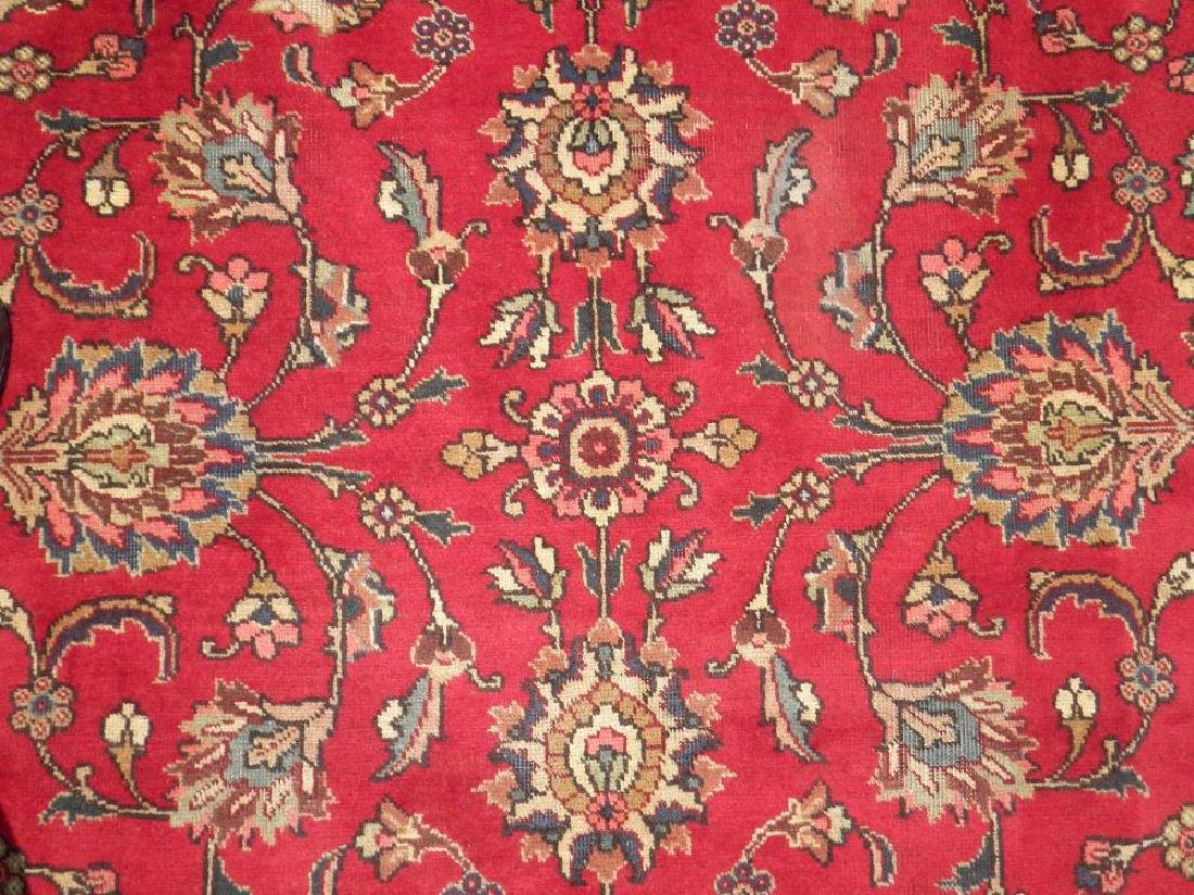 Semi Antique All-over Persian Tabriz Rug 10.4x7.5 - 3