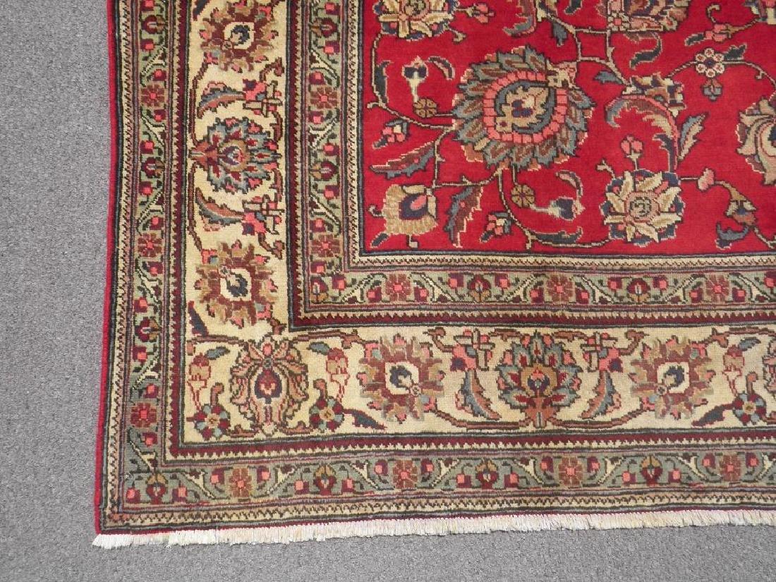 Semi Antique All-over Persian Tabriz Rug 10.4x7.5 - 4