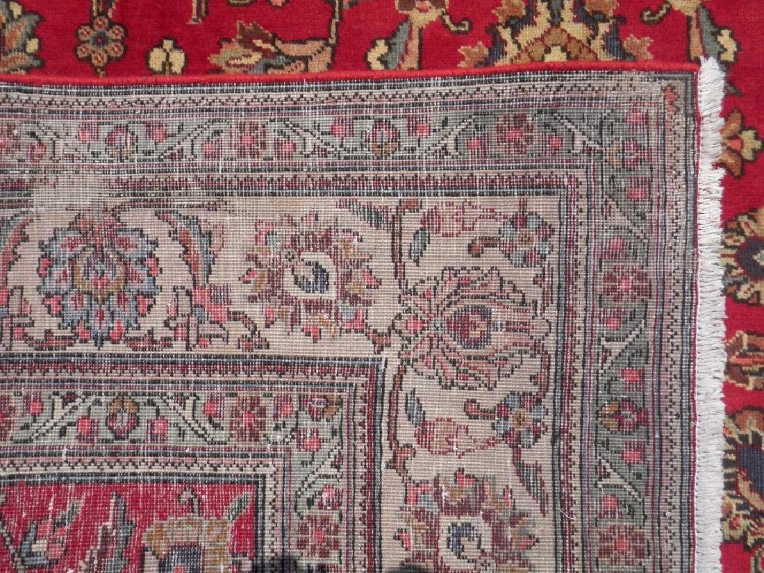 Semi Antique All-over Persian Tabriz Rug 10.4x7.5 - 5