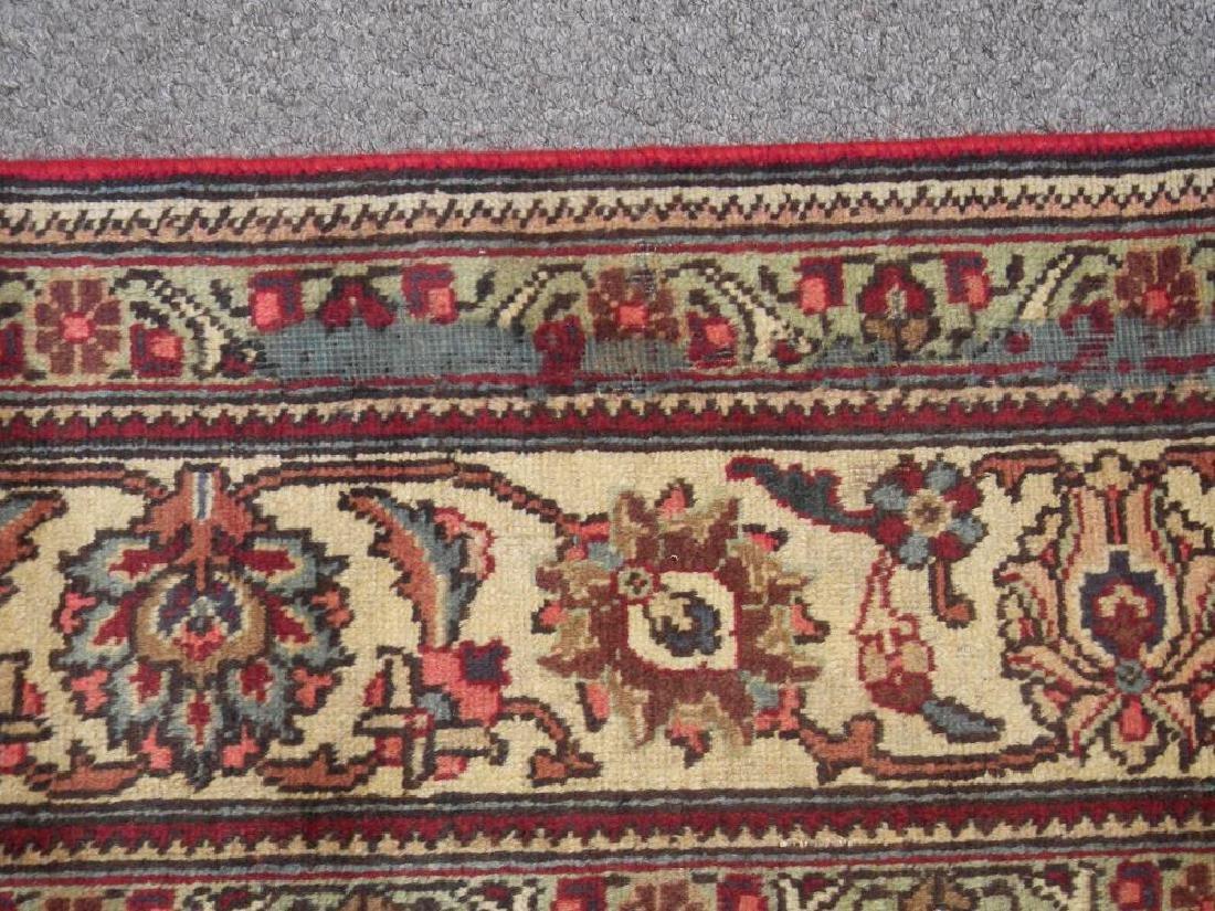 Semi Antique All-over Persian Tabriz Rug 10.4x7.5 - 6