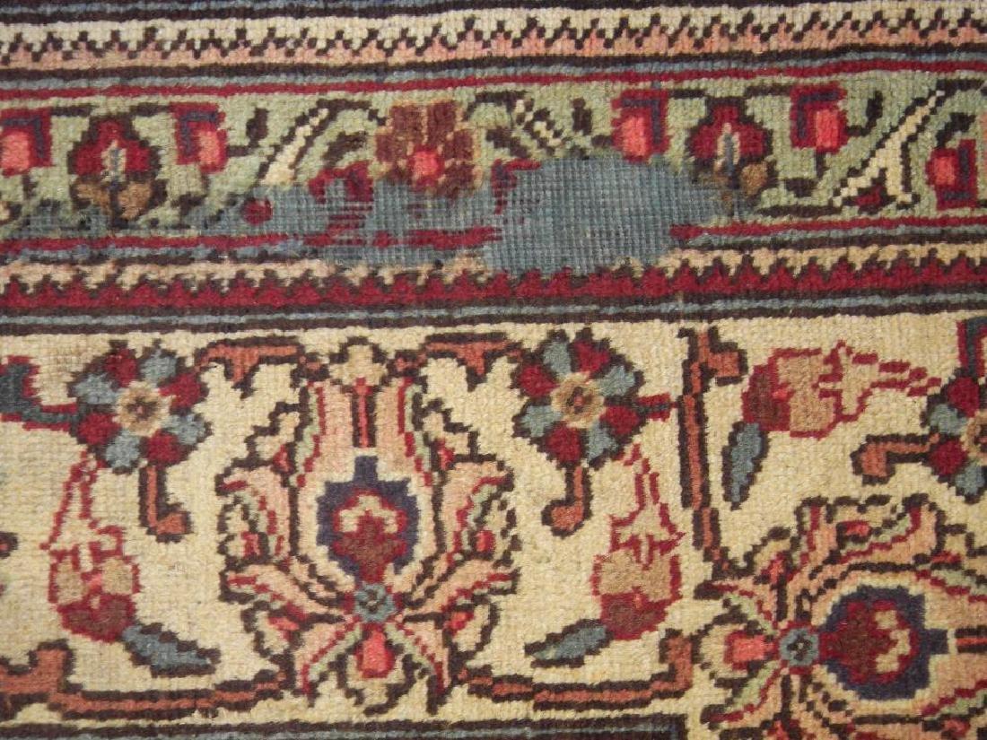 Semi Antique All-over Persian Tabriz Rug 10.4x7.5 - 7