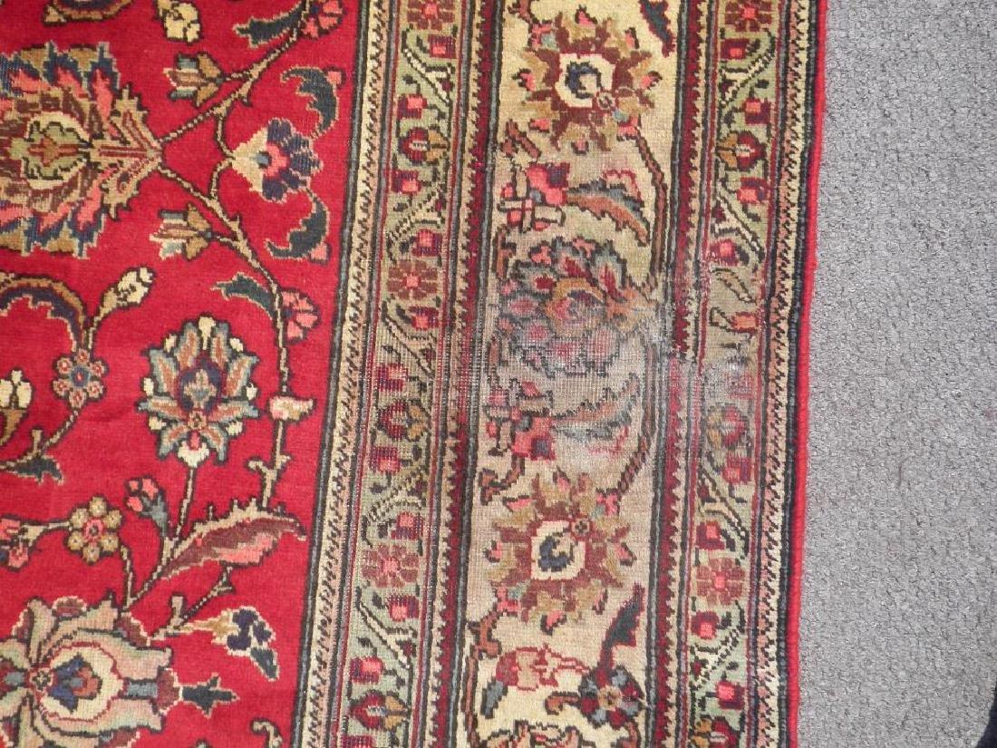 Semi Antique All-over Persian Tabriz Rug 10.4x7.5 - 8