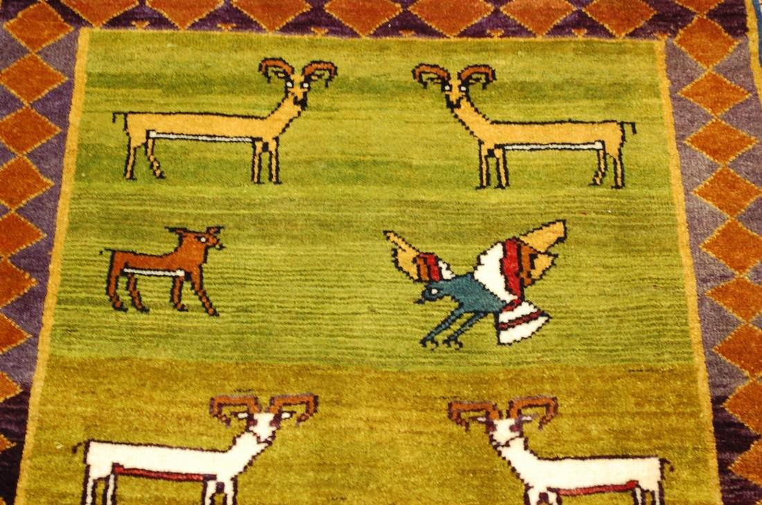 Persian Shiraz Qashkai Rug 3.2x4.6 - 10