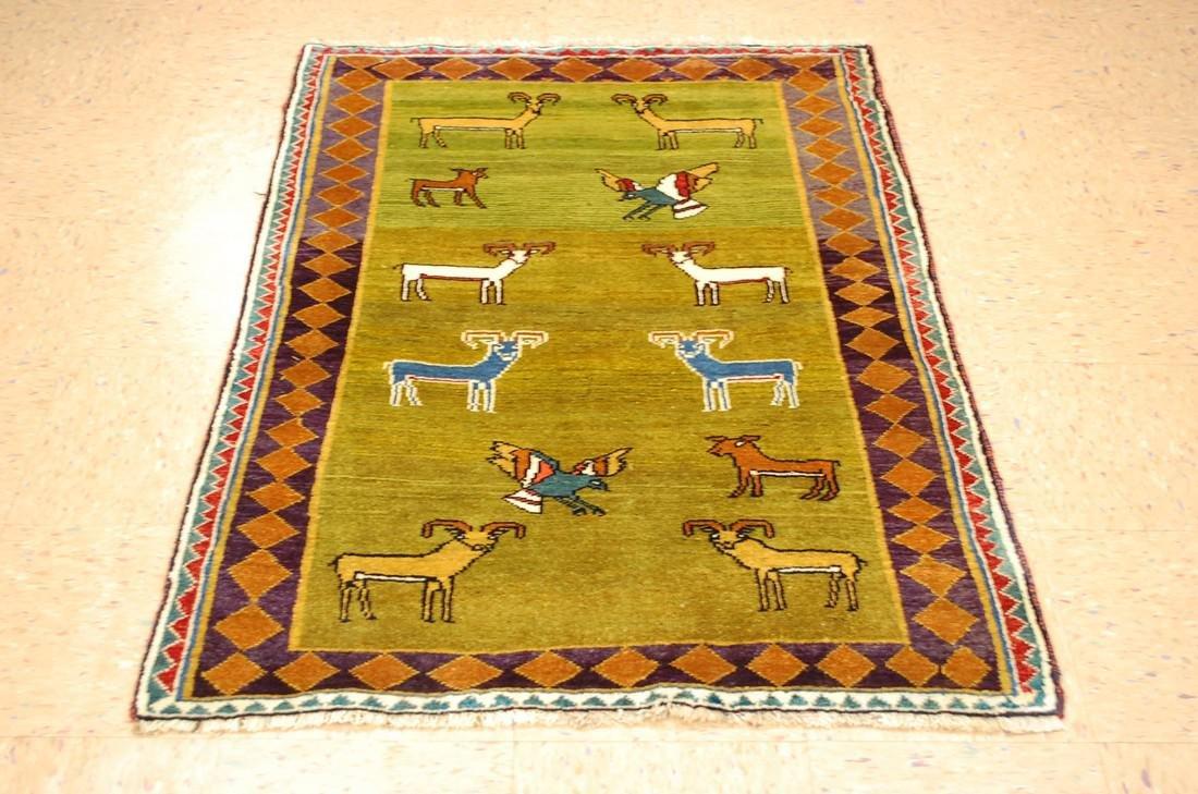 Persian Shiraz Qashkai Rug 3.2x4.6