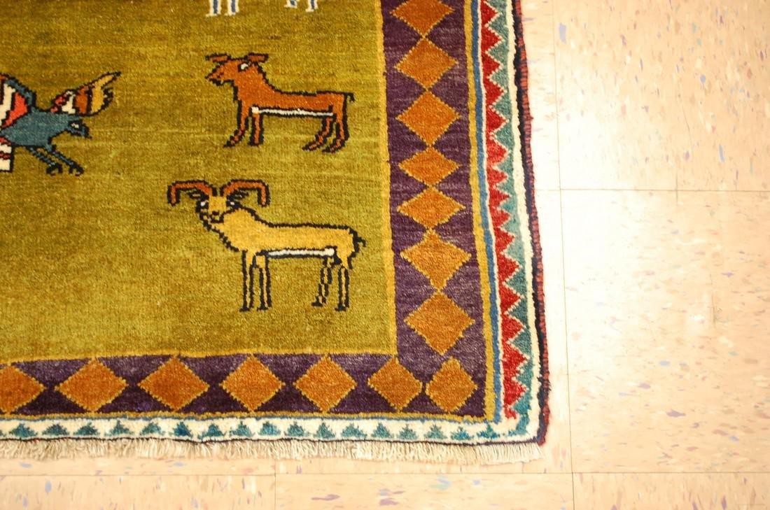 Persian Shiraz Qashkai Rug 3.2x4.6 - 2
