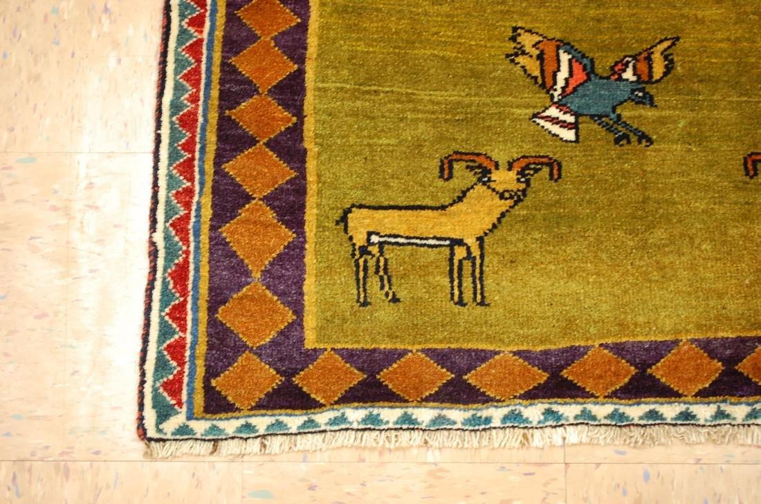 Persian Shiraz Qashkai Rug 3.2x4.6 - 3