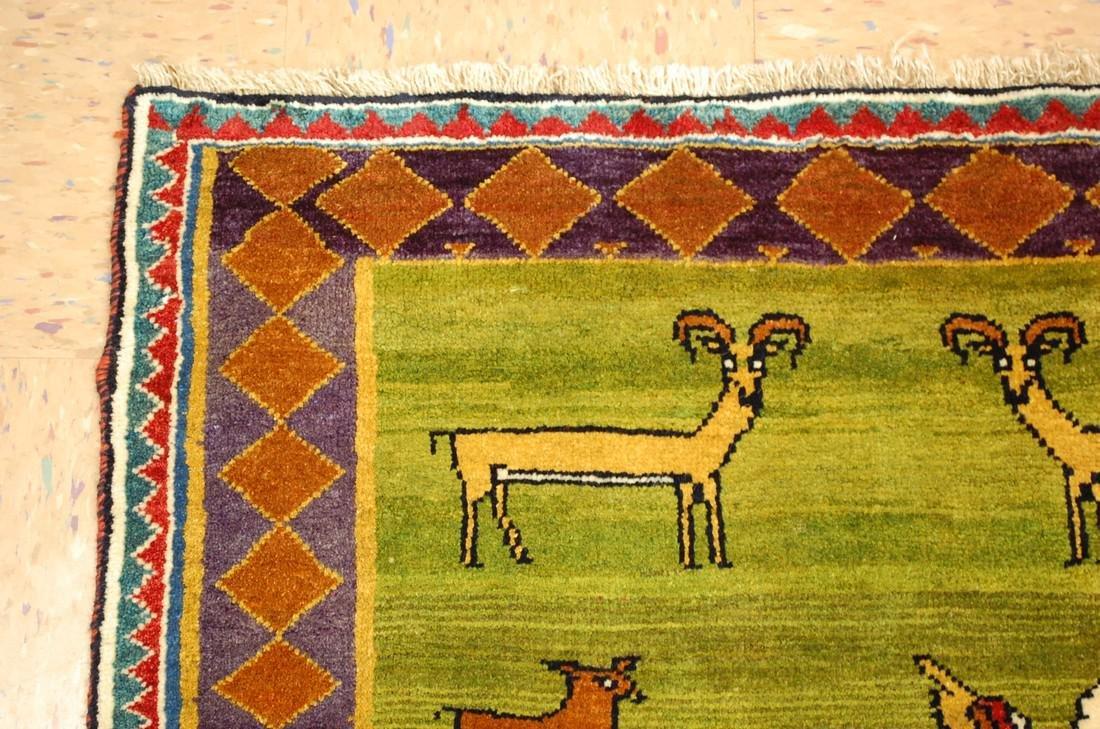 Persian Shiraz Qashkai Rug 3.2x4.6 - 4
