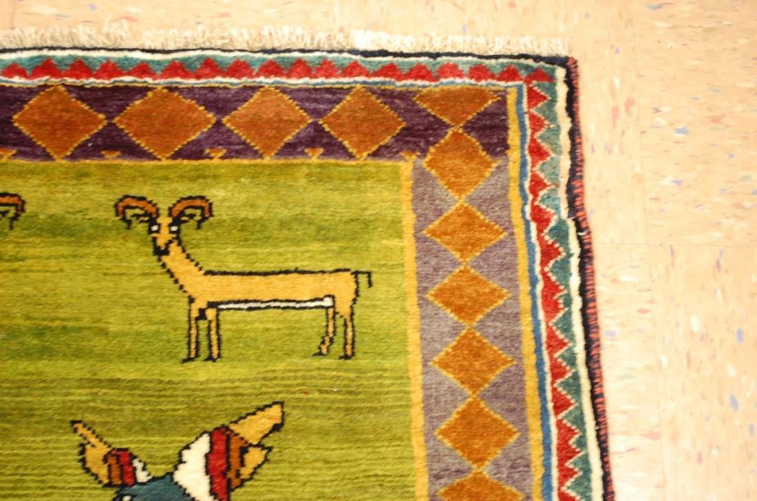 Persian Shiraz Qashkai Rug 3.2x4.6 - 5