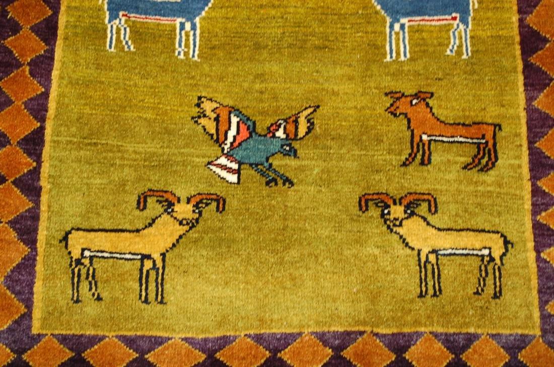 Persian Shiraz Qashkai Rug 3.2x4.6 - 7