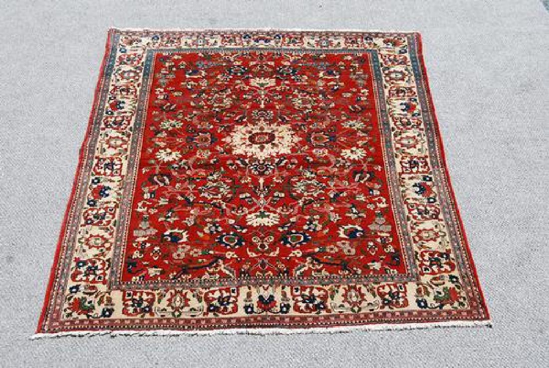 Highly Detailed Luxurious Isfahan Rug 5x6.11