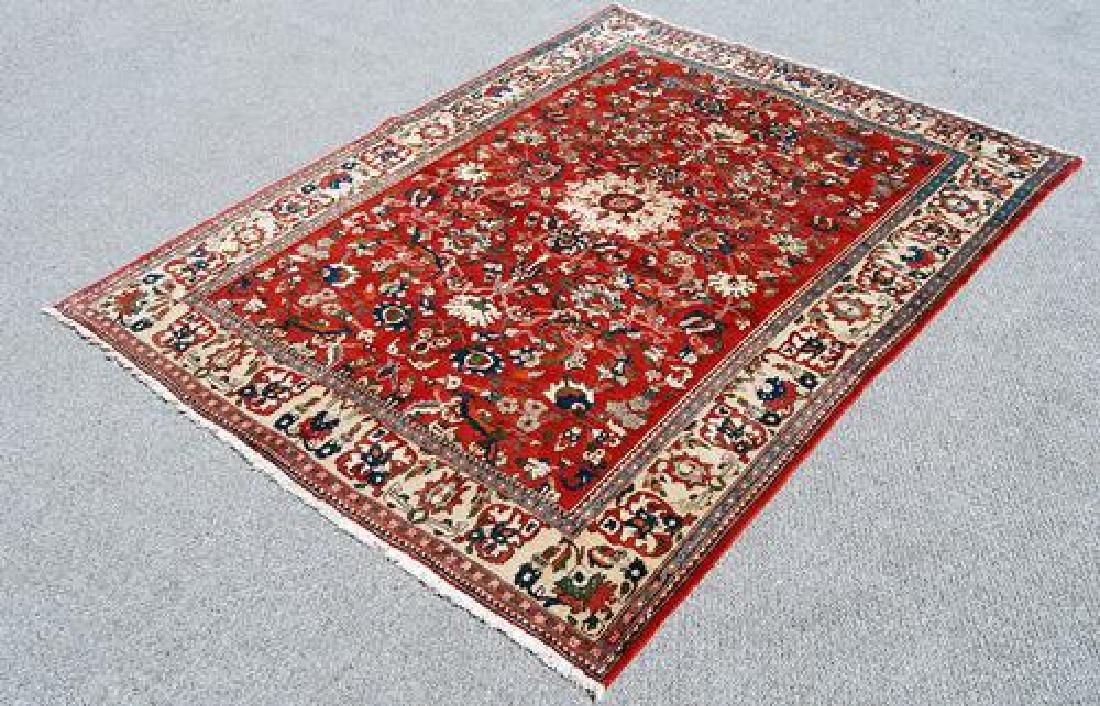Highly Detailed Luxurious Isfahan Rug 5x6.11 - 2