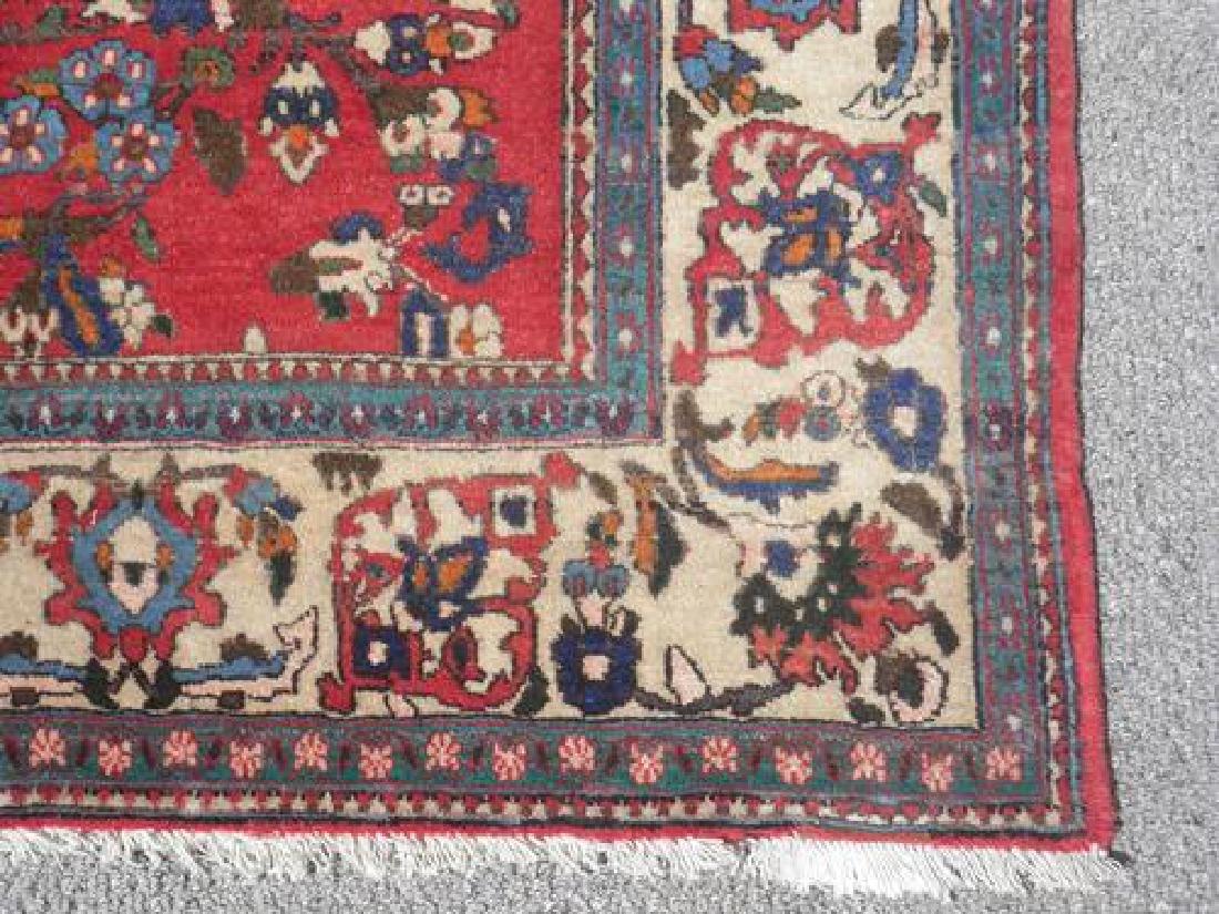 Highly Detailed Luxurious Isfahan Rug 5x6.11 - 5
