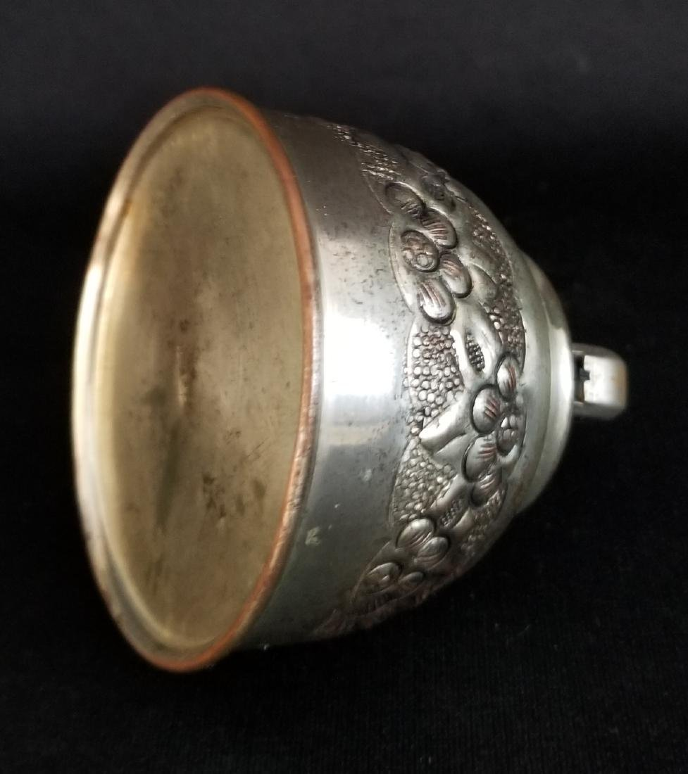 1940's Vintage Etched Rokai Table Lighter - 2