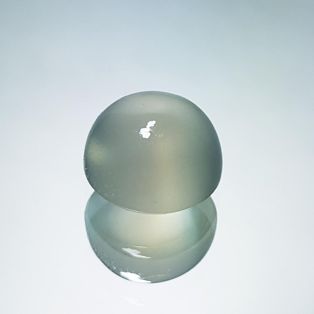 Natural Green Orange Moonstone - 7.26 ct - 2