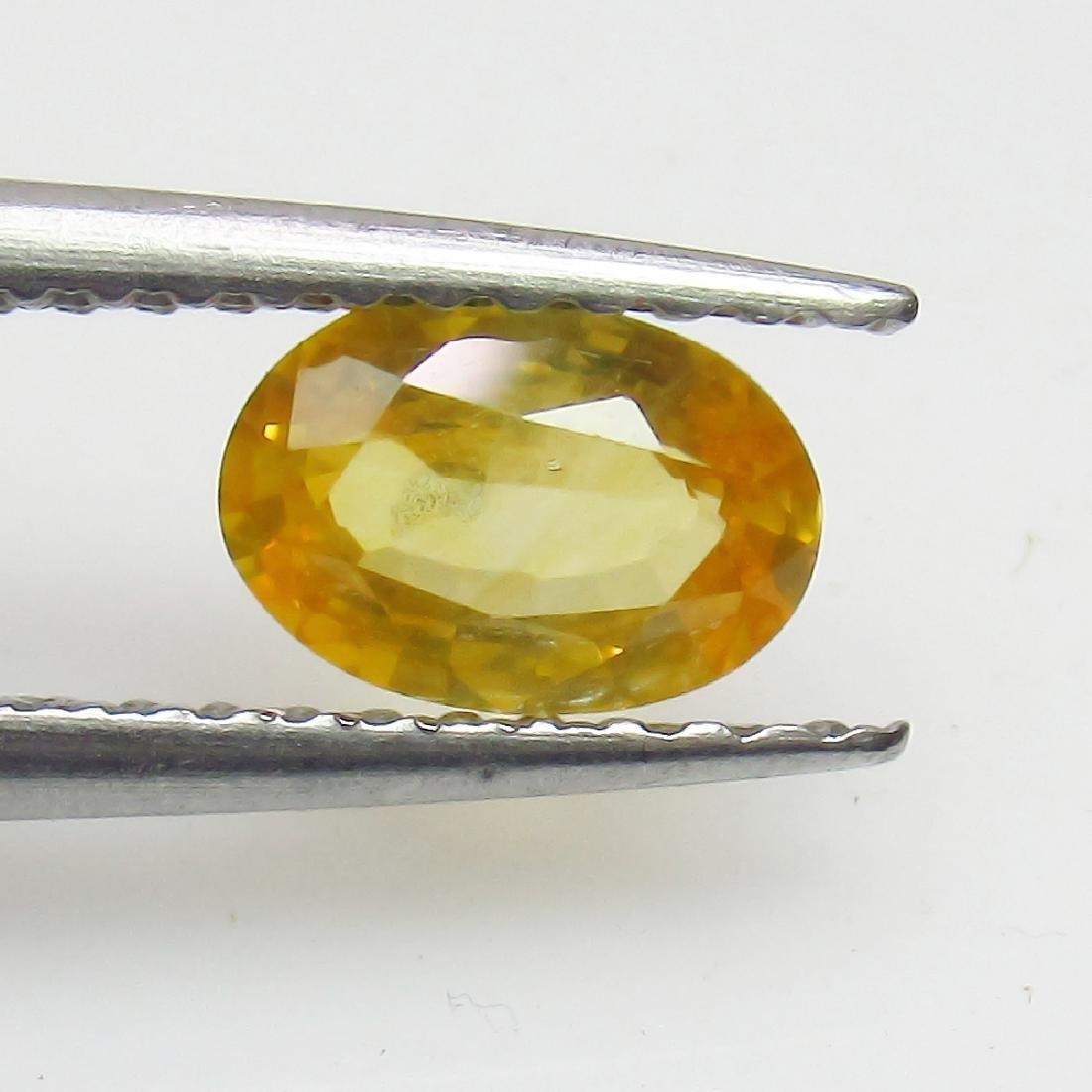 0.67 Ct Genuine Loose Ceylon Yellow Sapphire Top