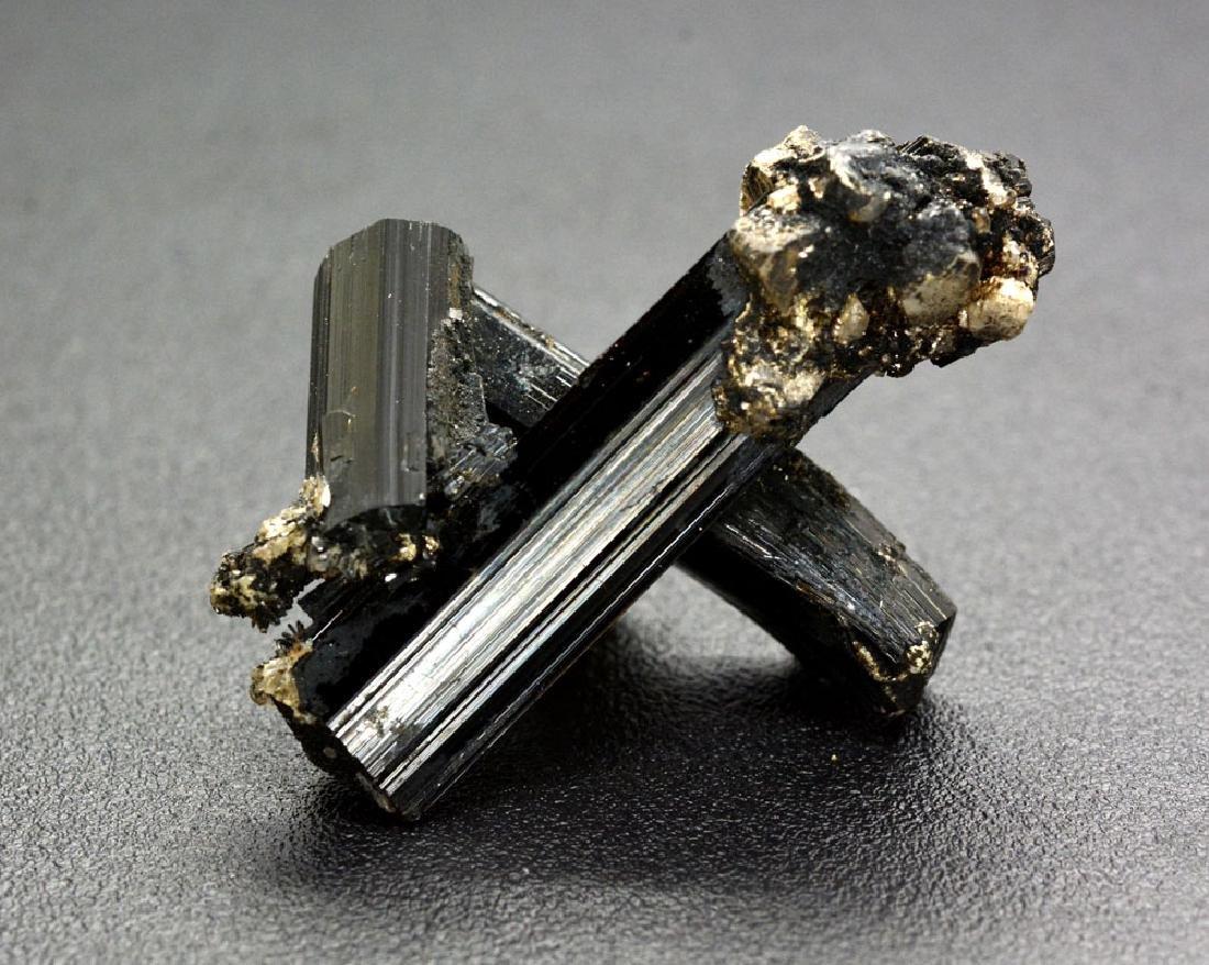 21 Gram Unique Black Tourmaline Specimen