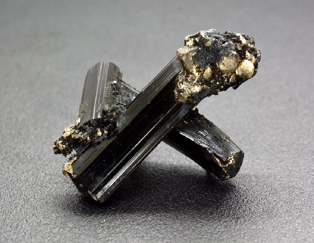 21 Gram Unique Black Tourmaline Specimen - 2