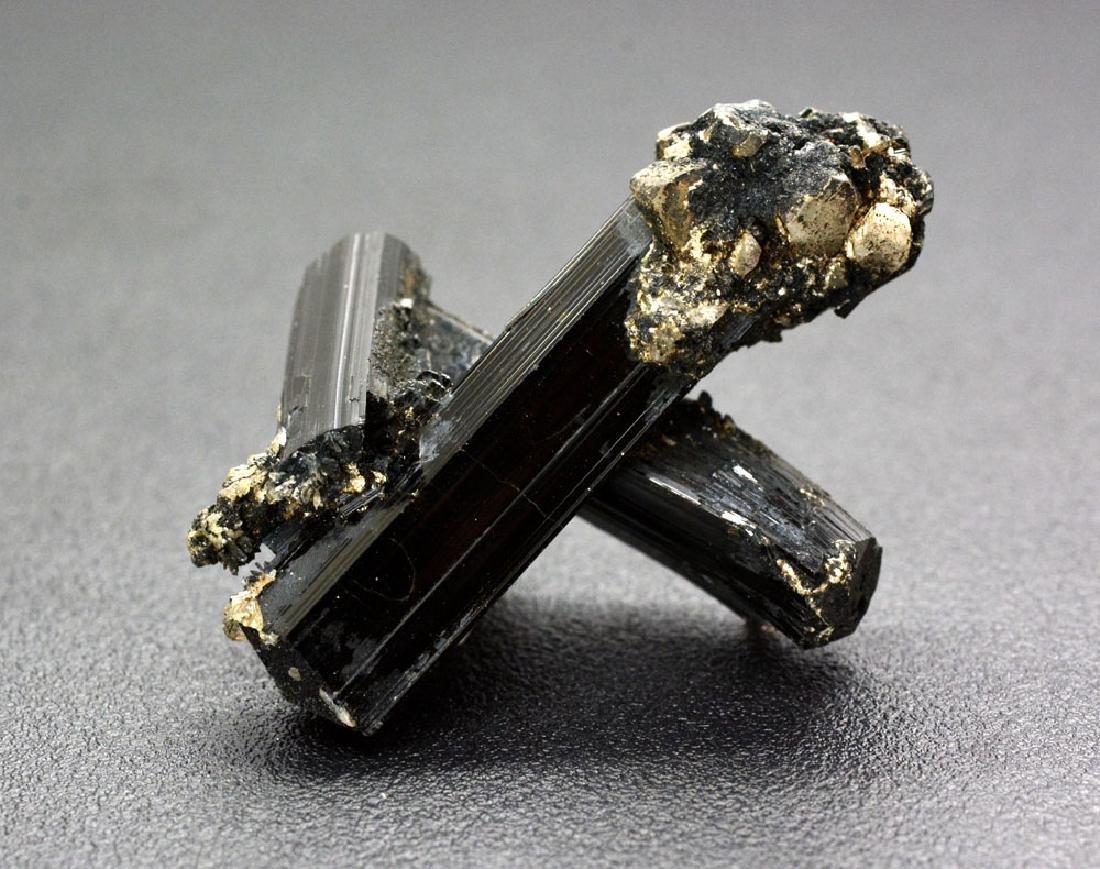 21 Gram Unique Black Tourmaline Specimen - 4