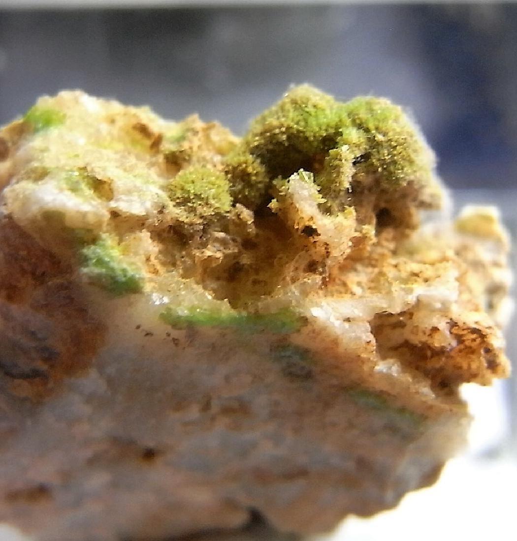 GREEN SPRAYS OF PYROMORPHITE - 6