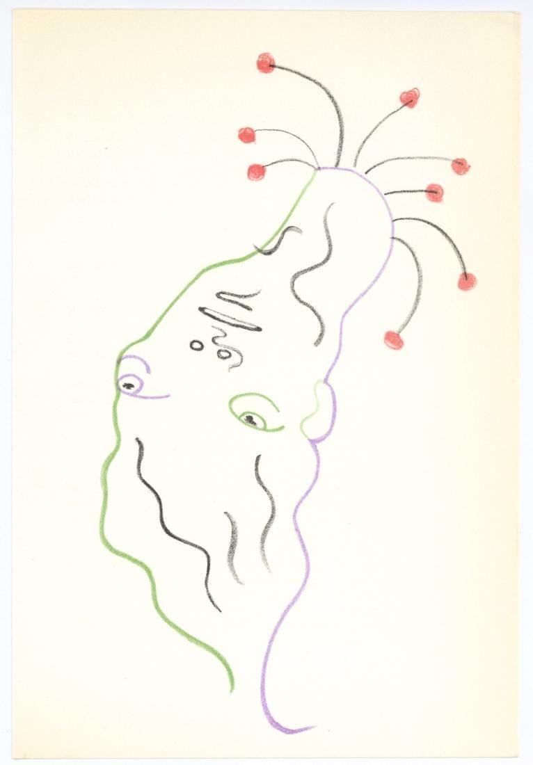 Jean Cocteau original lithograph Orpheus