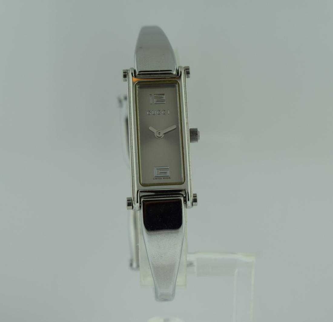 6241849d344 Ladies Gucci Stainless Steel Bangle Watch