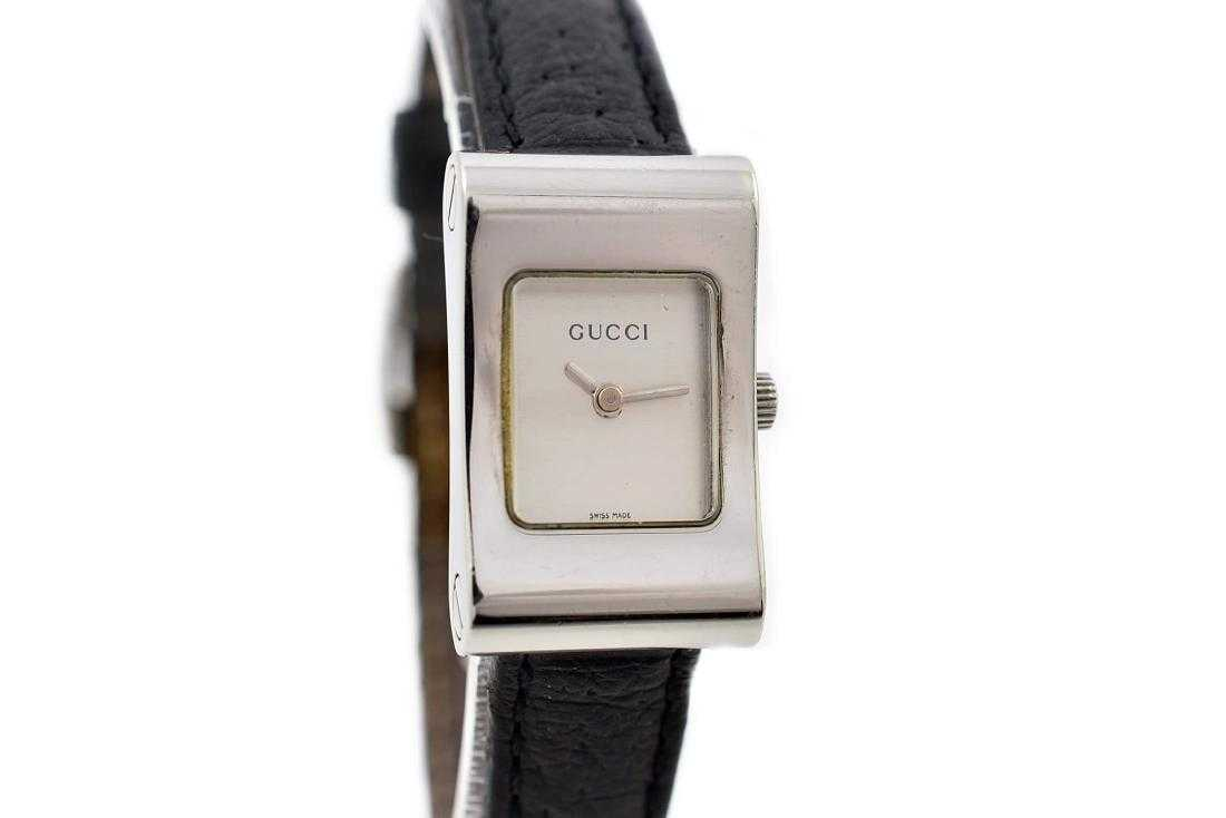 9f691cac13a Gucci 2300L Stainless Steel Ladies Quartz Watch