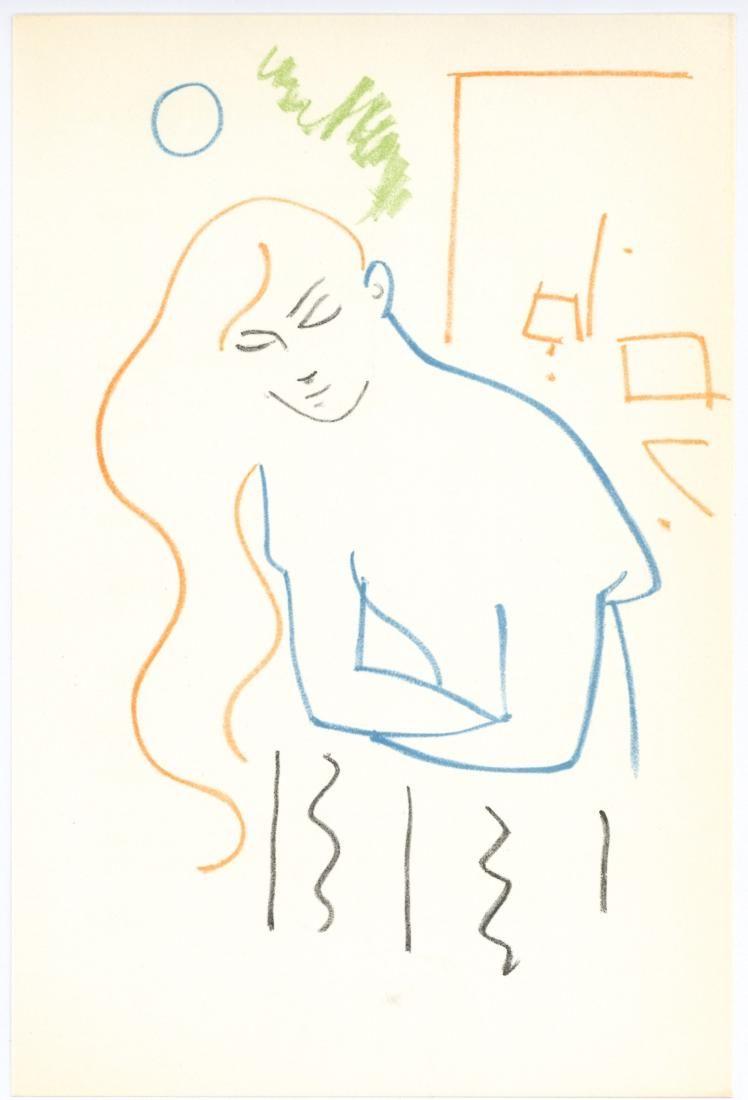 Jean Cocteau original lithograph   Romeo and Juliet
